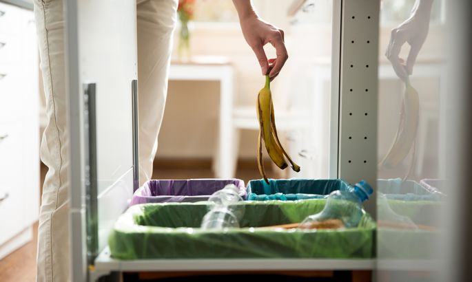 Cacher poubelle de cuisine