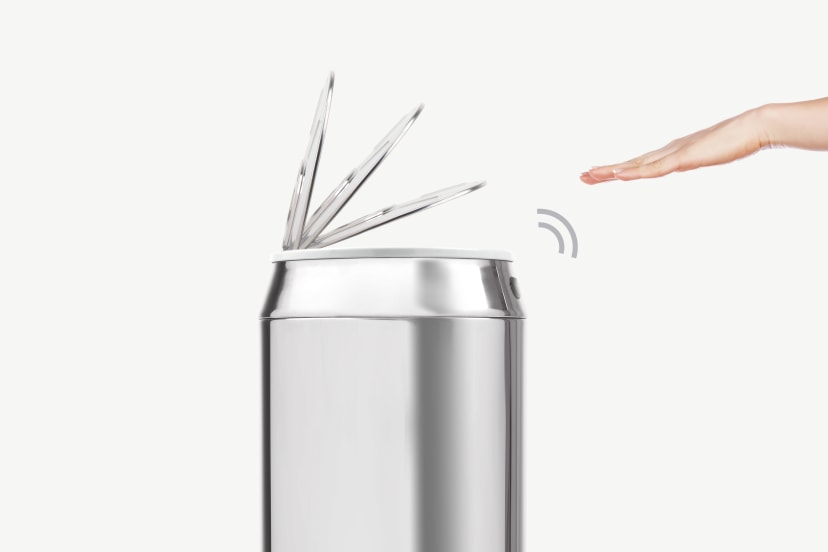 Quel système d'ouverture choisir pour une poubelle de cuisine ?