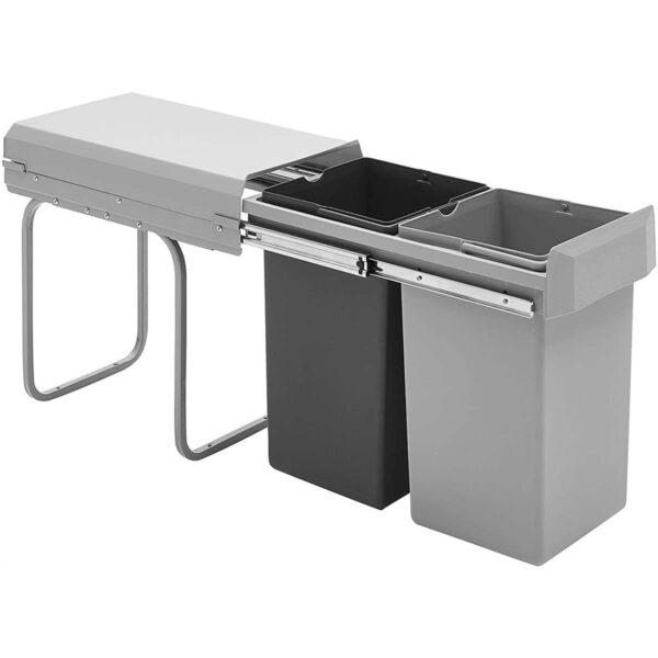 Acheter Poubelle de Cuisine Encastrable 2x15 L